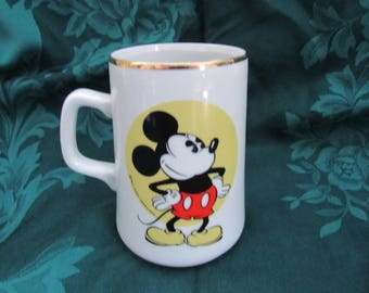 Vintage Japan Mickey Mouse Mug