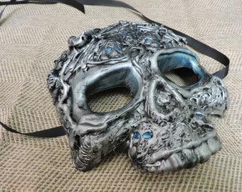 WHITE WALKER Masquerade Mask, GoT, Zombie, Halloween, Costume, Mardi Gras, Party, Cosplay, Costume