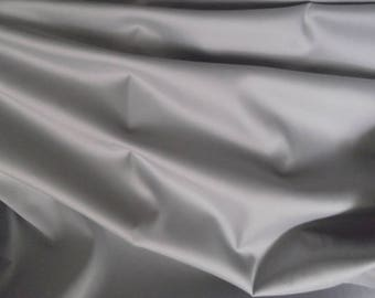 Pastel Silver Blue Twill Fabric with Lyrca