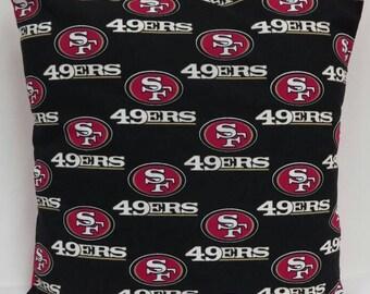 San Francisco 49ers 14X14 pillow cover