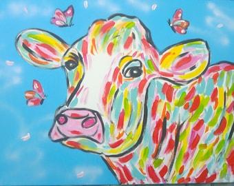 Painting 'Dear Cow'