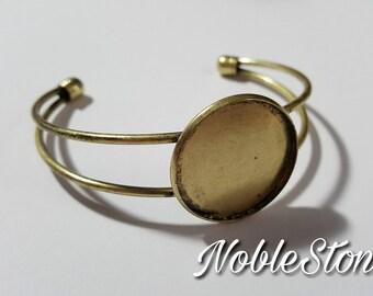 Bracelet version for 25 mm cabochons