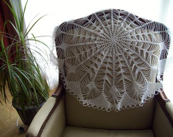 Large doily lace