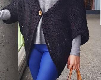 Easy Mesh Crochet Shrug Cardigan Pattern