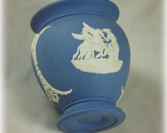 Small Blue and White Wedgwood Jasperware