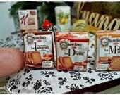 Fette biscottate in miniatura in scala 1;12