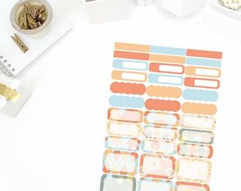 Autumn Memories Functional Stickers! Perfect for your Erin Condren Life Planner, calendar, Paper Plum, Filofax!