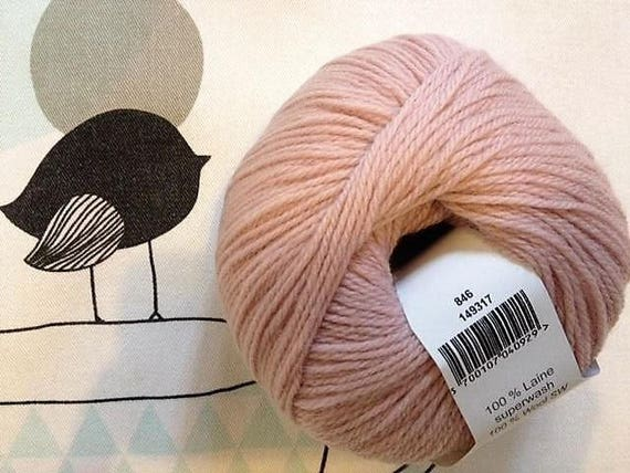 Powdered Rose - Fonty MERINO BB