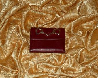 Genuine vintage Moschino wallet - genuine leather