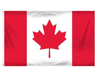Canada flag - 3 x 5 ft - Polyester