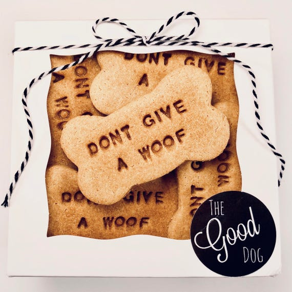 Don't Give a Woof Treat Box