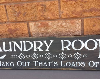 LAUNDRY SIGN..Laundry Entrance Sign