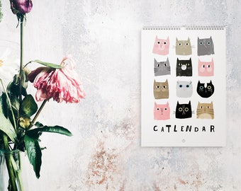 Wandkalender 2018 Catlenar Catisfaction / Cats, Calendar, Satisfaction