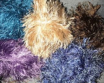 5yds fun fibers oe eyelash trim many colors