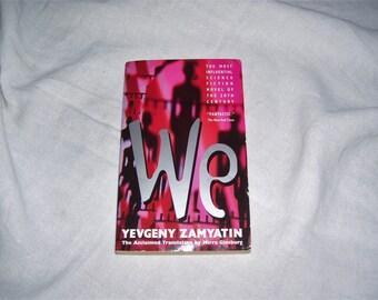 We  Yevgeny Zamyatin  Pb 1983 Dystopian Novel  Vintage