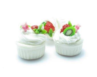 MINIATURE CAKE CREAM STRAWBERRY KIWI