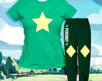 Steven Universe-Peridot Pajama Set