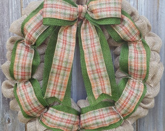Fall Wreath, Fall Front Door, Front Door Wreath, Fall Door Wreath, Fall Decor, Burlap Wreath, Door Wreath, Harvest Wreath, Autumn Wreath