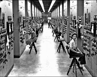 Poster, Many Sizes Available; Y-12 Plant At Oak Ridge, Tn During Manhattan Project