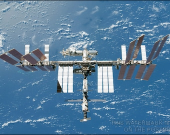 Poster, Many Sizes Available; International Space Station P1