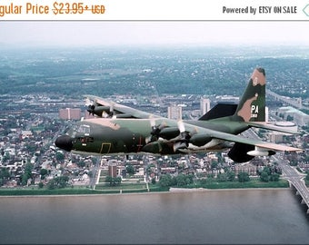 20% Off Sale - Poster, Many Sizes Available; U.S. Air Force Ec-130E Hercules,193Rd, Harrisburg, Pennsylvania