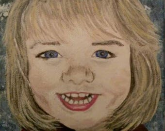 Custom Oil or Acrylic Painting Art Portrait 8x10