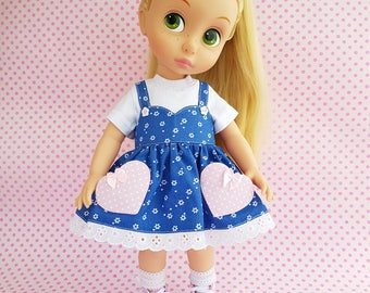 Disney Animator Dolls Clothes. Doll clothes for Disney Animator 16'. 16 inch doll dress.