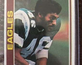 1978 Topps Herman Edwards #404 Trading card