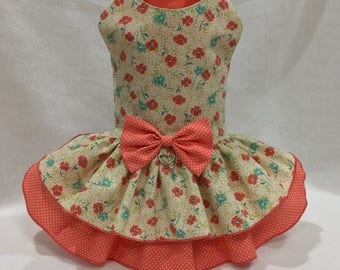 Dog dress By Little Paws Boutique