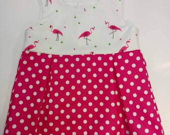 Pretty Pink Flamingo Dress