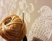 Custom Order for Alison, Crochet Drawstring Ventolin Holder, personal keepsake purse