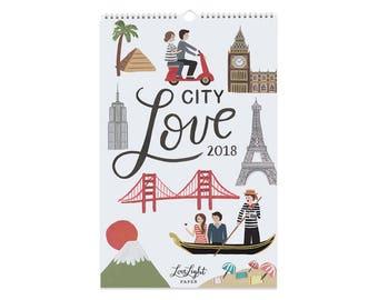 City Love - Calendar 2018