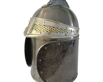 Medieval Knight Helmet Ice Bucket