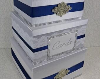 wedding card box, custom card box, wedding card holder, card box, card box for wedding, wedding gift box, three tier card box