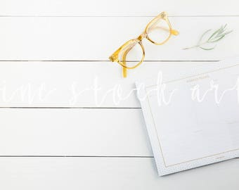 Shiplap Styled Desktop Stock Photo | Instant Download for Bloggers/Creatives
