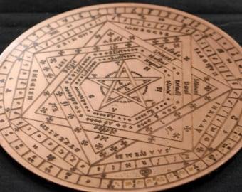 Budget Sigillum Dei Aemeth | Copper Engrave (3)