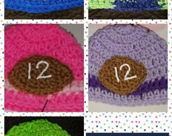Newborn Seahawk Hats