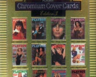 MATURE - Playboy Trading Card Chromium Cover Cards III - #300 Checklist #4