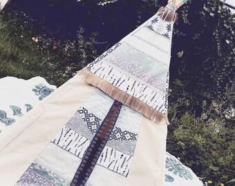 Custom Handcrafted Tipi Teepee