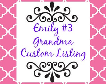 Emily #3 GRANDMA Cookie Giftbox