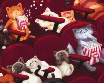 Movie Kittens / custom fabric