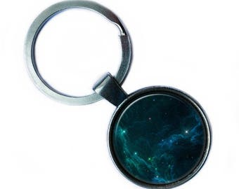 NASA Photograph Starlight Keychain Keyring