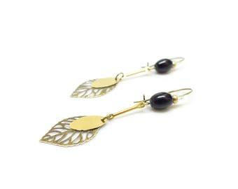 Fine Bohemian earrings ~ Gingsen ~