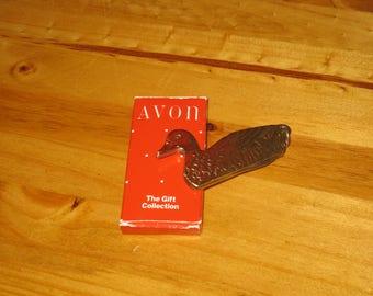 Avon Duck Claspknife Pendant/Keychain Knife