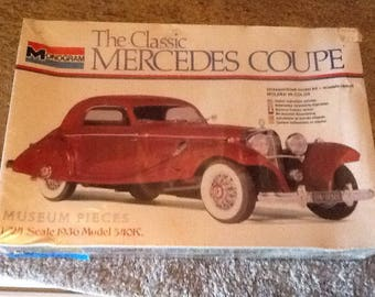 The Classic Mercedes Coupe