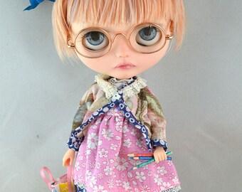 OOAK Custom Blythe  doll Bon Bon