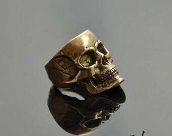 Signet Skull Bronze