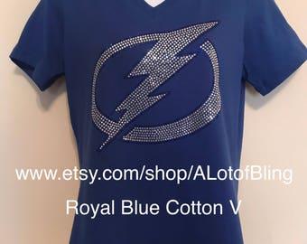 Tampa Bay Lightning Rhinestone shirt