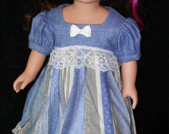 "18"" Doll Clothes. Doll Pajamas. PJs. Doll Nightgown. Flannel Nightgown."
