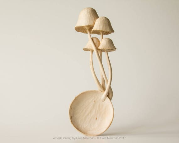 Agaricus - Hand Carved Si...